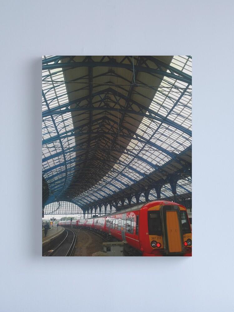 Alternate view of Brighton Train Station Canvas Print