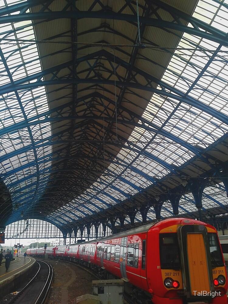 Brighton Train Station by TalBright