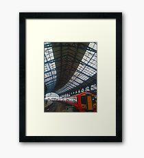 Brighton Train Station Framed Print