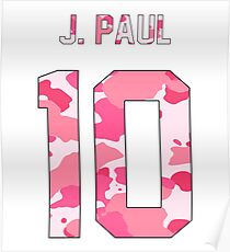 Jake Paul (Team 10) - Pink Camo Poster