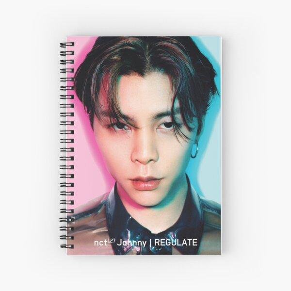 Johnny NCT 127 REGULATE Spiral Notebook