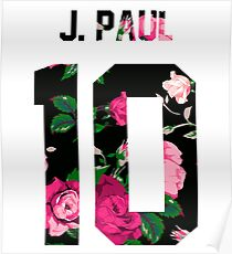 Jake Paul (Team 10) - Colorful Flowers Poster