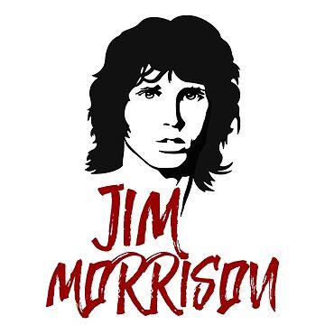 Jim Morrison by Loredan