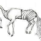 Flamigo Zebra by Julia Keil