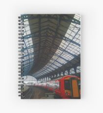 Brighton Train Station Spiral Notebook