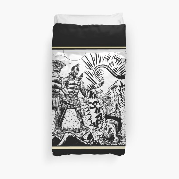 Tex Watt's Epic Bible Project Movie Storyboard #2 Duvet Cover