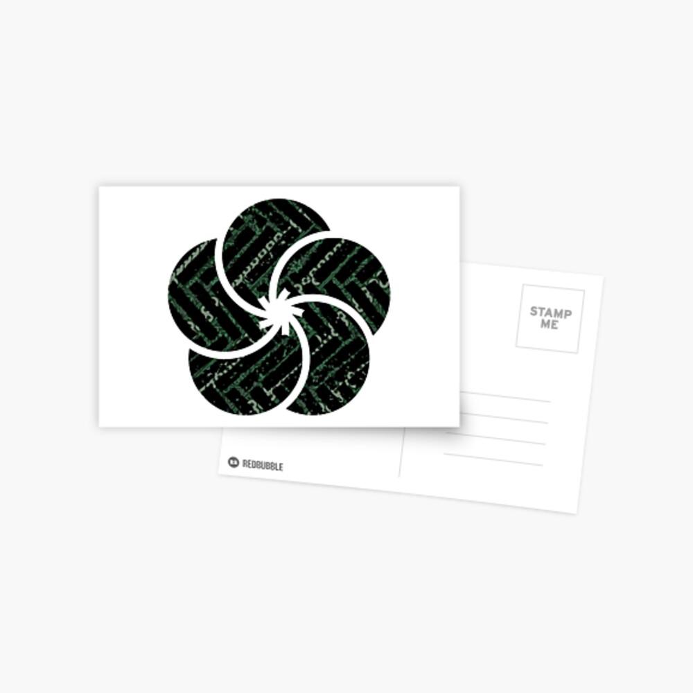 Festliche Erinnerungen Postkarte