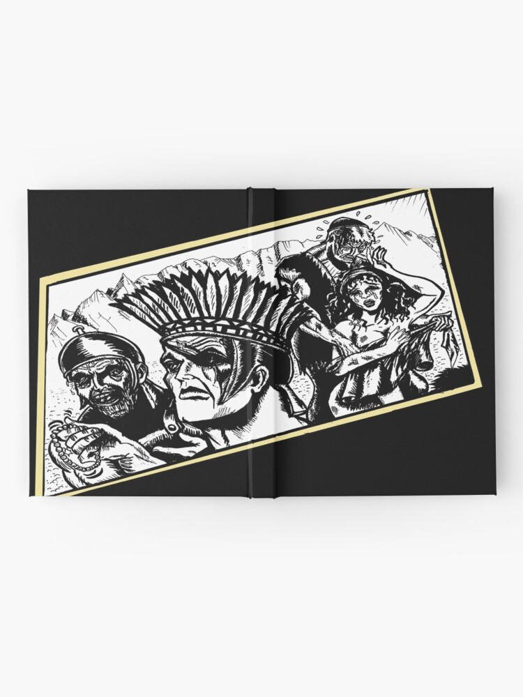 Alternate view of Tex Watt's Epic Bible  Project Movie Storyboard #3 Hardcover Journal