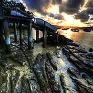 Sunset Landing - Paradise Beach, Sydney - The HDR Experience by Philip Johnson