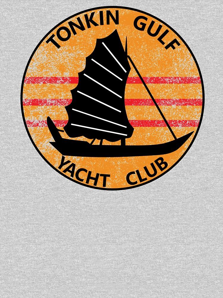 Tonkin Gulf Yacht Club 7th Fleet Vietnam Patch Shirt Gear by DynamicDesign