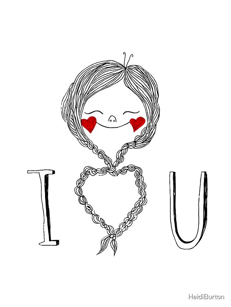 I heart you braids by HeidiBurton