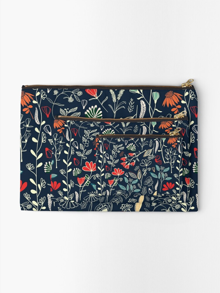Alternate view of Forest Treasures Zipper Pouch