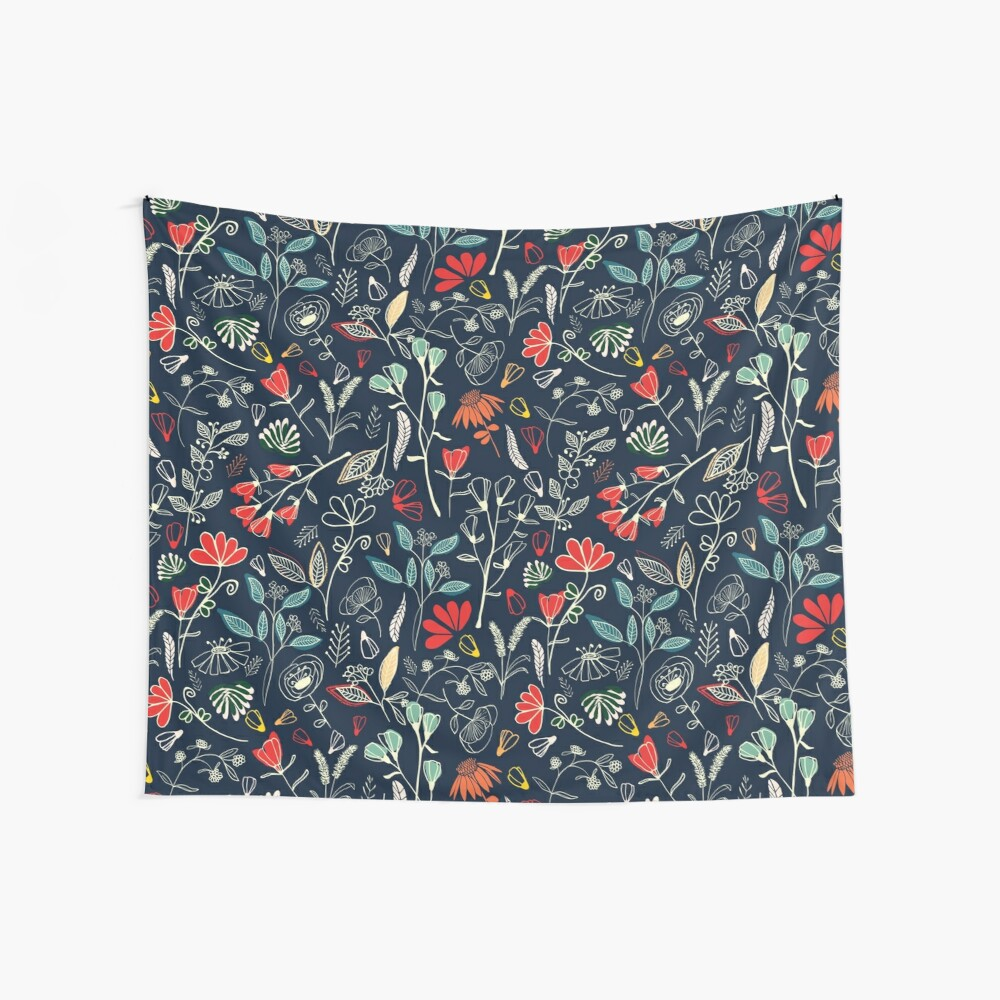 Forest Treasures Wall Tapestry