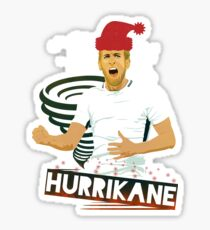 HurriKANE xXx Christmas edition Sticker