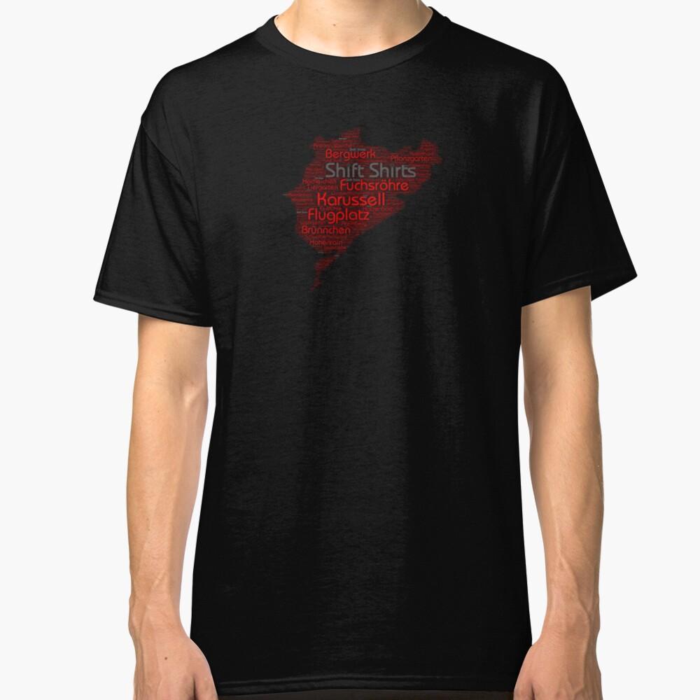 Ring Corners - Nurburgring Inspired Classic T-Shirt