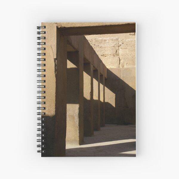 Ancient Hallway Spiral Notebook