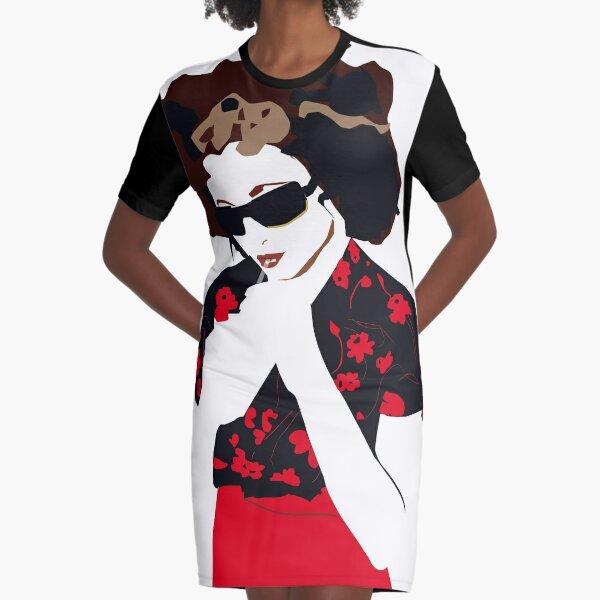 Goldfrapp Graphic T-Shirt Dress