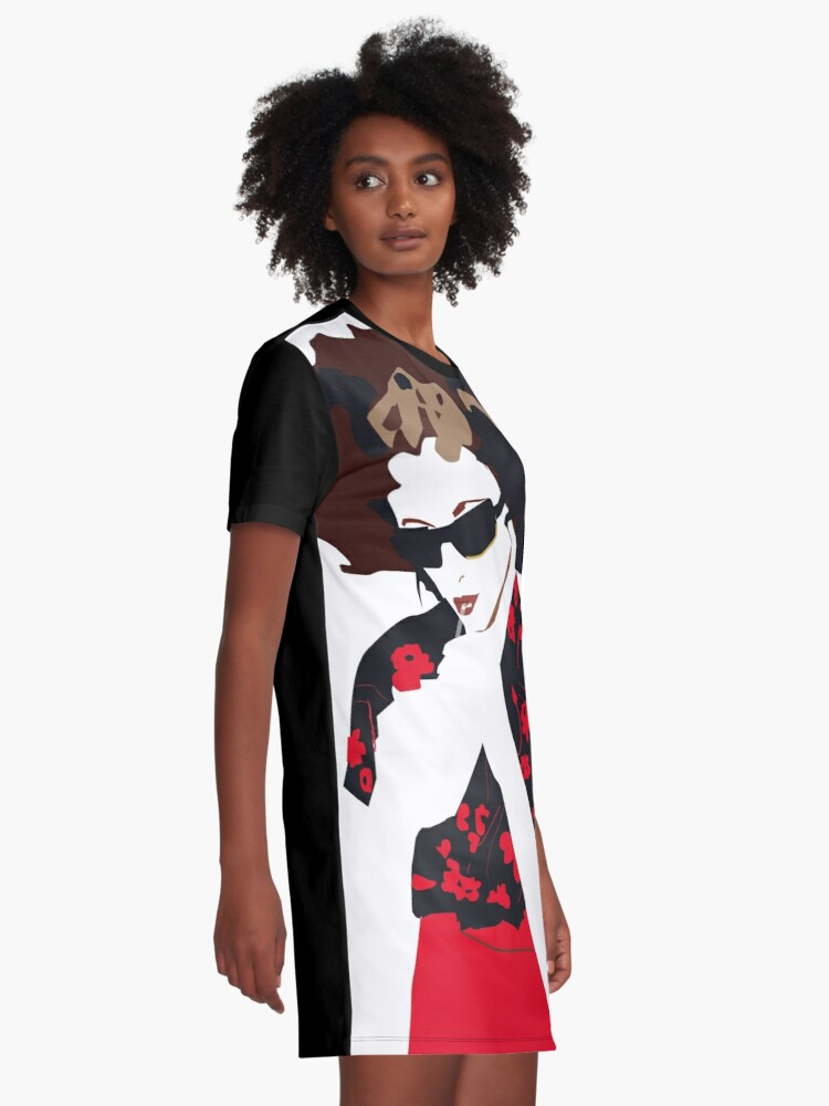 Alternate view of Goldfrapp Graphic T-Shirt Dress