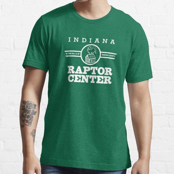Bald Eagle Cabin Indiana Raptor Center Logo Essential T-Shirt