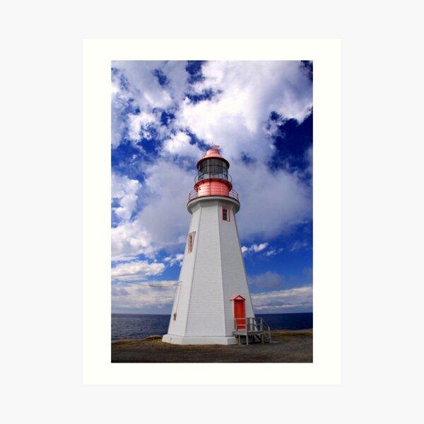 Point Riche Lighthouse Art Print