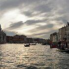 Venice, Italy - Pearly Skies on Canalazzo the Grand Canal by Georgia Mizuleva