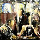 Café atmosphere by Philip Gaida