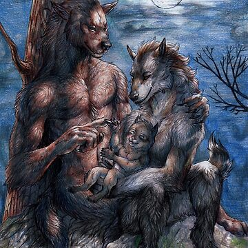 Family of werewolves by Furiarossa