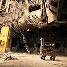 old abadoned factory by Denny Stoekenbroek
