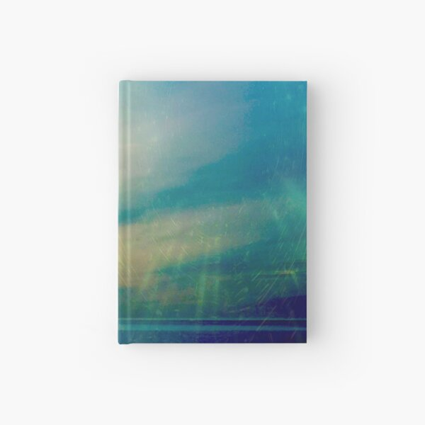 Blue Green Tranquility Hardcover Journal