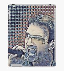 Abstract Portrait of Bono iPad Case/Skin