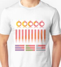 infographic elements for your design Unisex T-Shirt