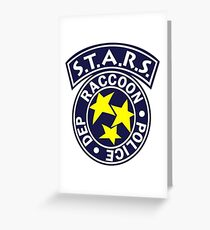S.T.A.R.S. Greeting Card