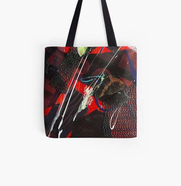 Confined No. 5 All Over Print Tote Bag