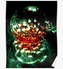 Liquid Marbles Still Life Poster