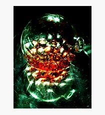 Liquid Marbles Still Life Photographic Print