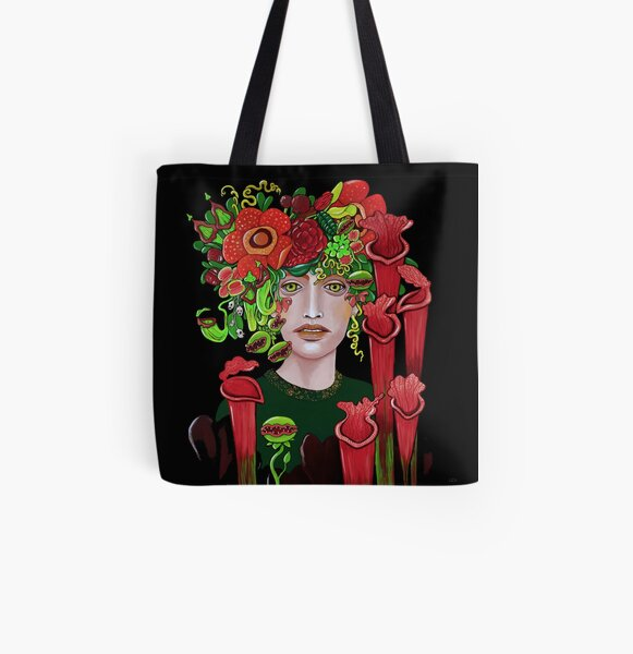 Femme Fatale All Over Print Tote Bag