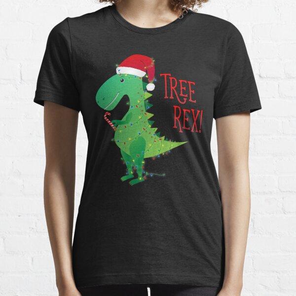 Christmas Tree Rex Essential T-Shirt