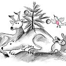 Christmas of the animals by Julia Keil