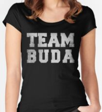 Team Buda Women's Fitted Scoop T-Shirt