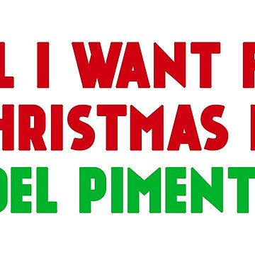 All I Want for Christmas is Joel Pimentel by amandamedeiros