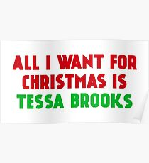 All I Want for Christmas is Tessa Brooks Poster