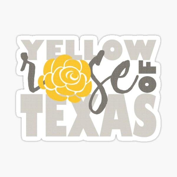 Yellow Rose of Texas Sticker