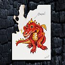 Dragon by Maria Tiqwah by Maria Tiqwah
