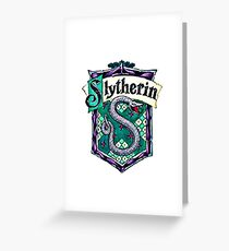 HARRY POTTER - SLYTHERIN Greeting Card