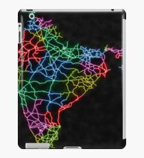 India Map in Neon Colors iPad Case/Skin