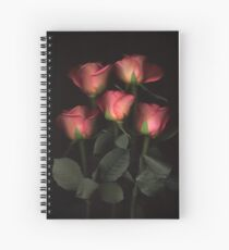 Roses 1 Spiral Notebook
