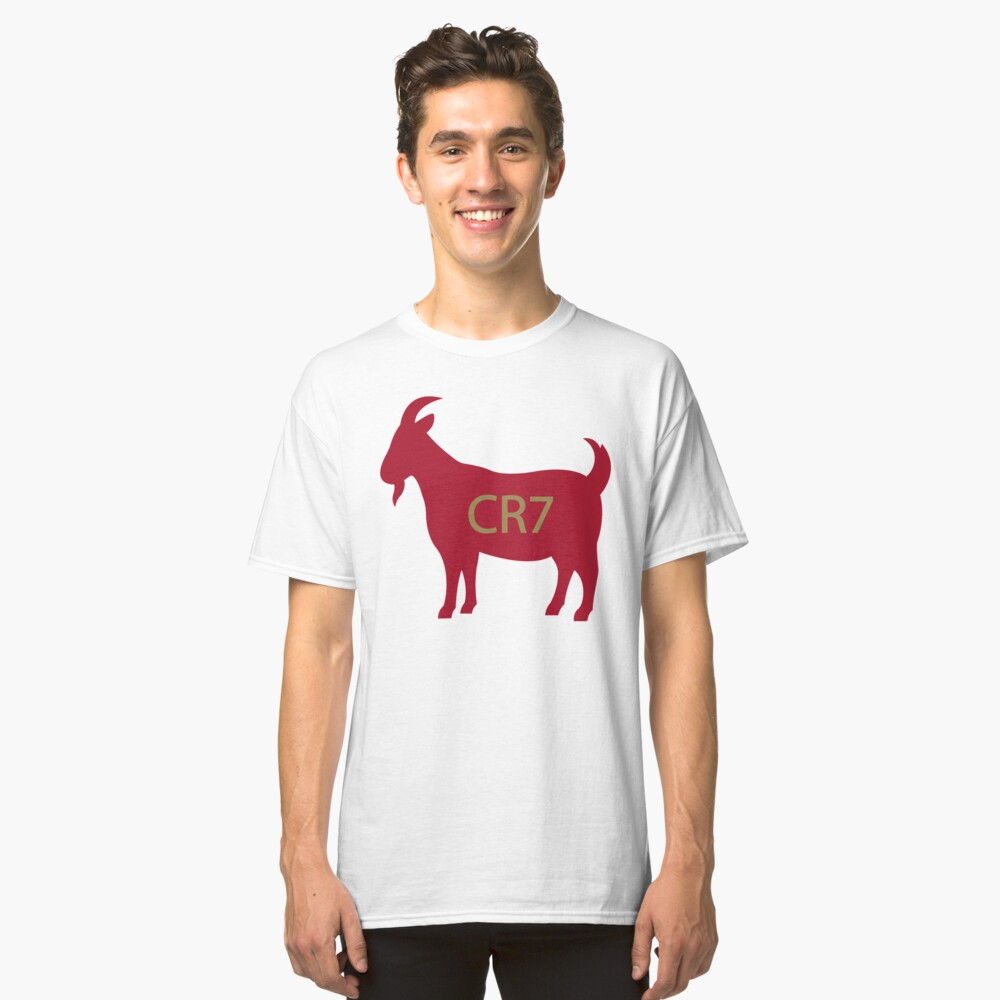 Goat CR7 Classic T-Shirt Front