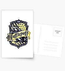 HARRY POTTER - HUFFLEPUFF Postcards