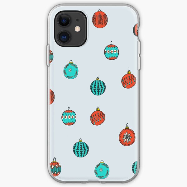 Christmas Ornaments iPhone Soft Case