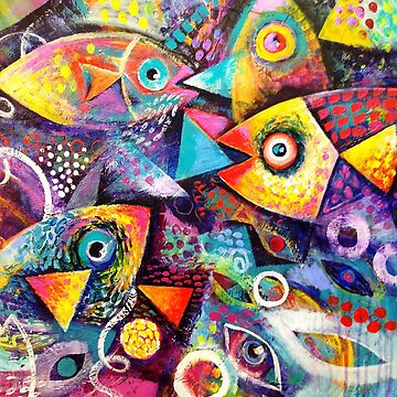 Colourful fish by karincharlotte